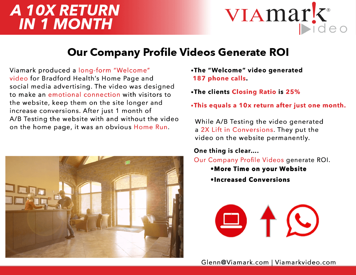 Viamark Video | Company Profile Videos Generate ROI